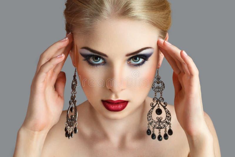 Blondynki kobieta zdjęcie stock