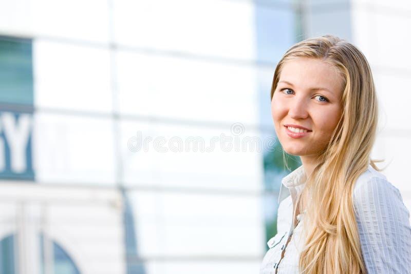 atrakcyjnej blondynki biznesowa kobieta obrazy stock