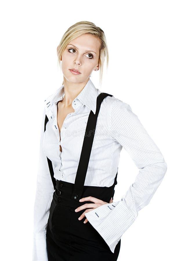atrakcyjnej blondynki biznesowa kobieta obrazy royalty free