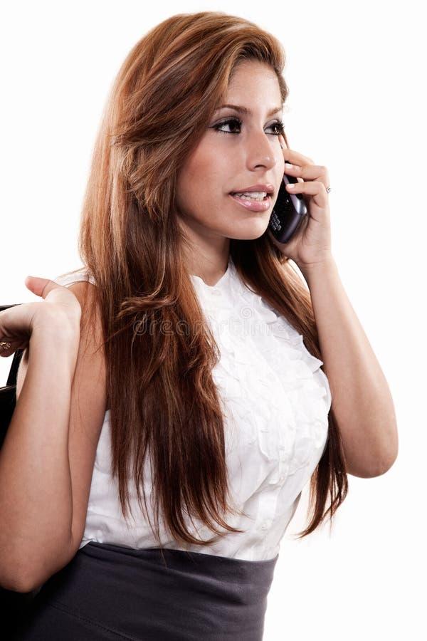 atrakcyjnej brunetki biznesowa latynoska kobieta obrazy stock