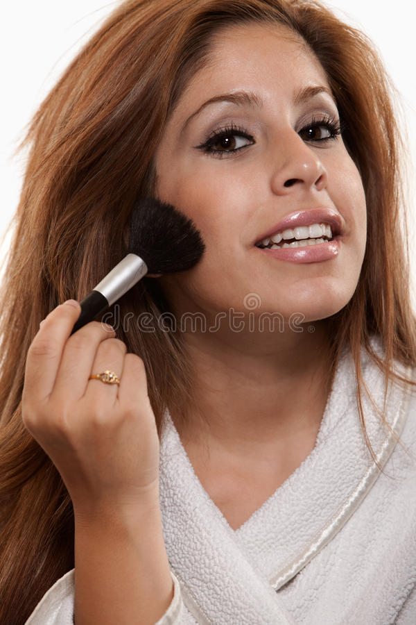 atrakcyjnej brunetki latynoska lat dwudziestych kobieta fotografia stock