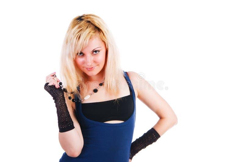 Download Atrakcyjnej Dziewczyny Uśmiechnięci Potomstwa Obraz Stock - Obraz złożonej z blondyny, piękno: 13331645