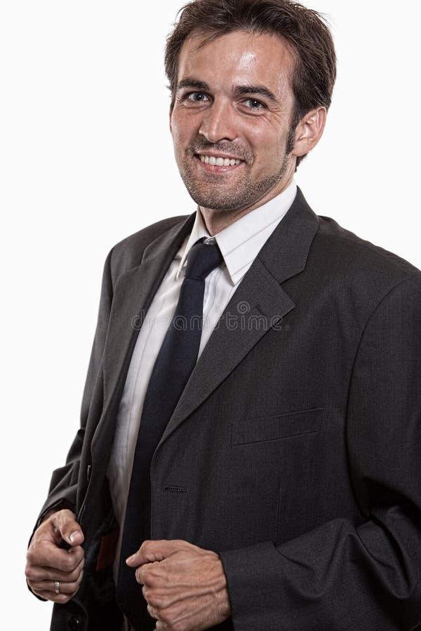 atrakcyjni biznesowego mężczyzna potomstwa zdjęcia stock