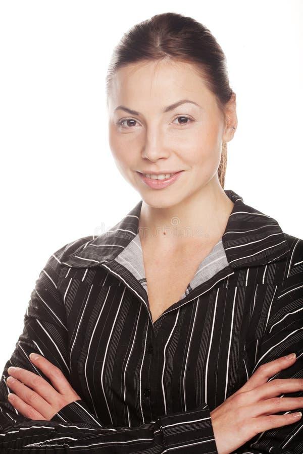 atrakcyjni biznesowej kobiety potomstwa zdjęcie stock