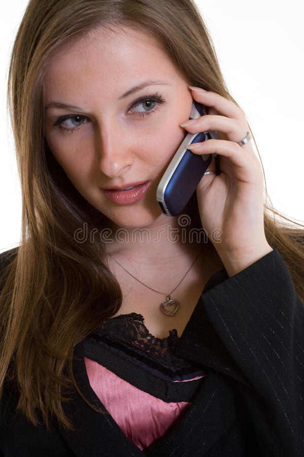 atrakcyjni bizneswomanu caucasian lata dwudzieste zdjęcie royalty free