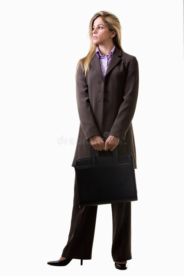 atrakcyjni blondynki bizneswomanu caucasian potomstwa zdjęcia stock