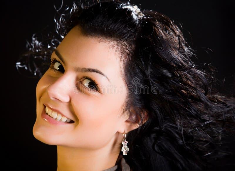 atrakcyjni włosy tęsk kobiet potomstwa obrazy royalty free