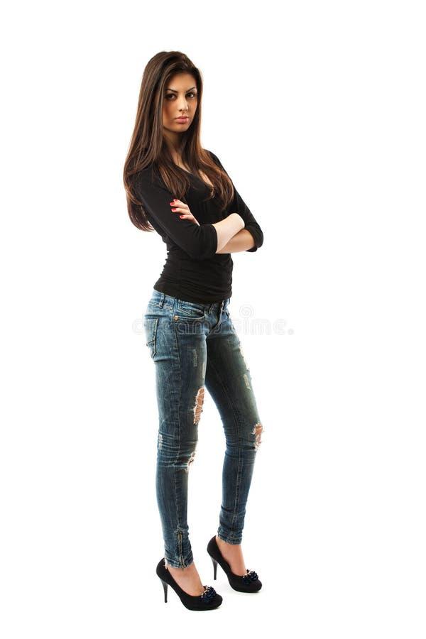 atrakcyjny ciało folował damy latin zdjęcie royalty free