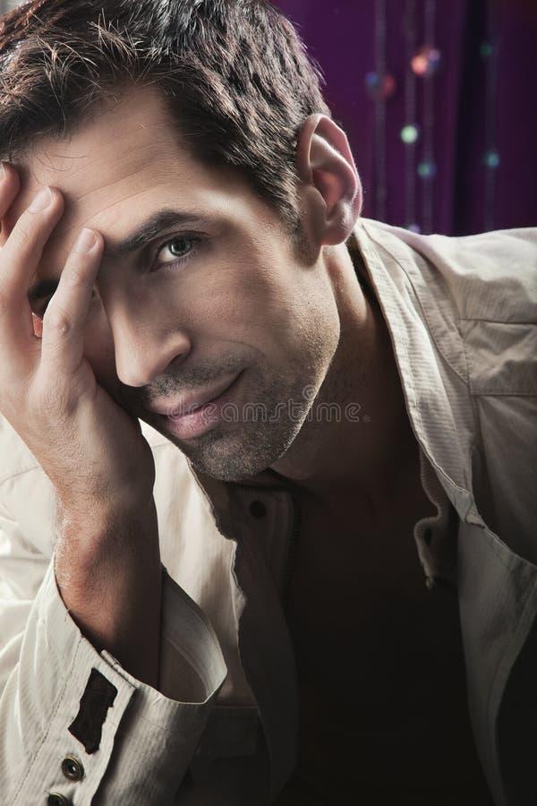 atrakcyjny facet zdjęcie stock