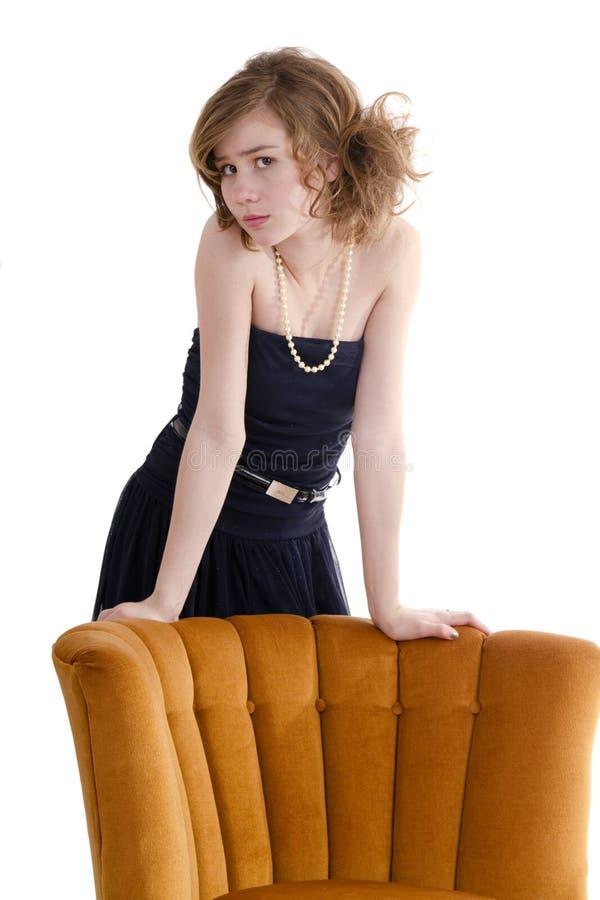 atrakcyjny kobiety modela preteen zdjęcia stock