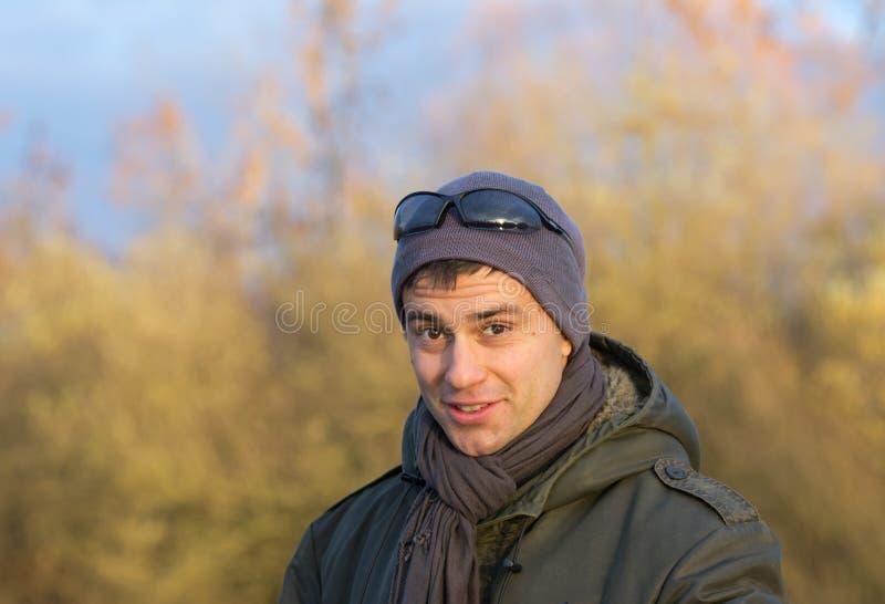 Atrakcyjny mężczyzna portret zdjęcia stock