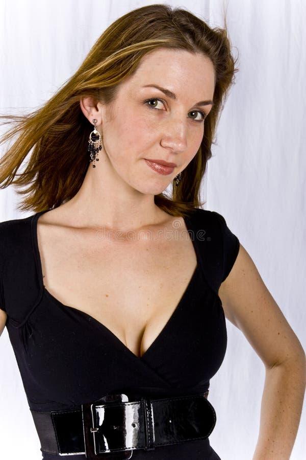 atrakcyjny model fotografia stock