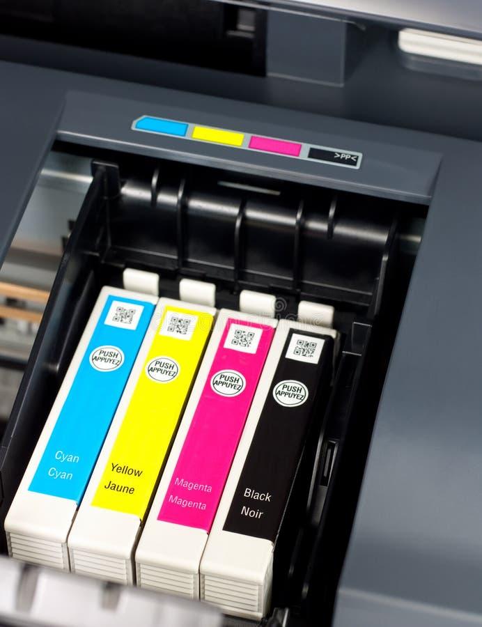 atrament drukarka zdjęcie stock
