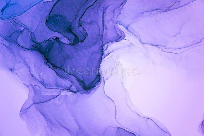 Atrament, farba, abstrakt Kolorowy abstrakcjonistyczny obrazu tło Textured nafciana farba Wysokiej jakości detaInk, farba, abstra obraz royalty free