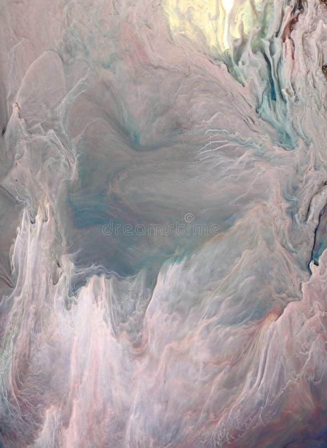 Atramentu abstrakcjonistyczny biały tło zdjęcie royalty free