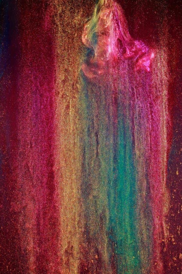 Atramentu abstrakcjonistyczny projekt obraz stock