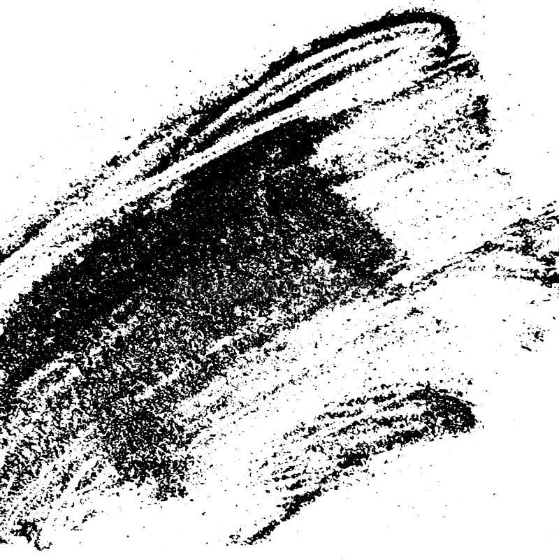 Atramentu pyłu tekstura dla twój projekta Grunge proszka wzór Wektorowy handmade tło Tło z piasek tekstury skutkiem royalty ilustracja