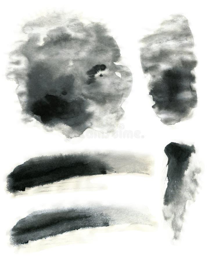 Atramentu skutka Miękka tekstura zdjęcie stock