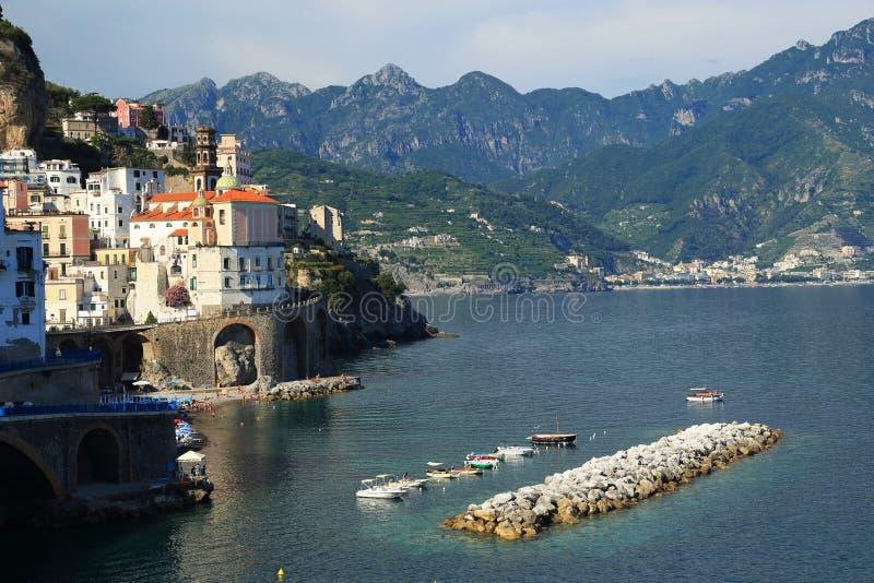 Download Atrani Resort, Italy, Europe Stock Photo - Image of house, architecture: 39514824