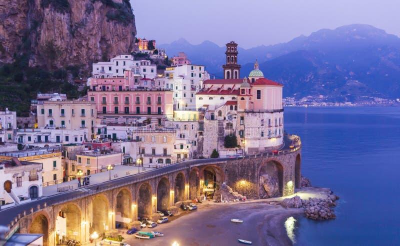 Atrani town, Amalfi coast, Italy royalty free stock photography