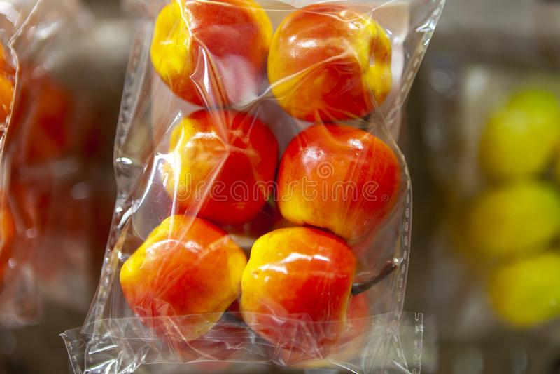 Atrapa jabłko od piankowego klingerytu zdjęcie royalty free