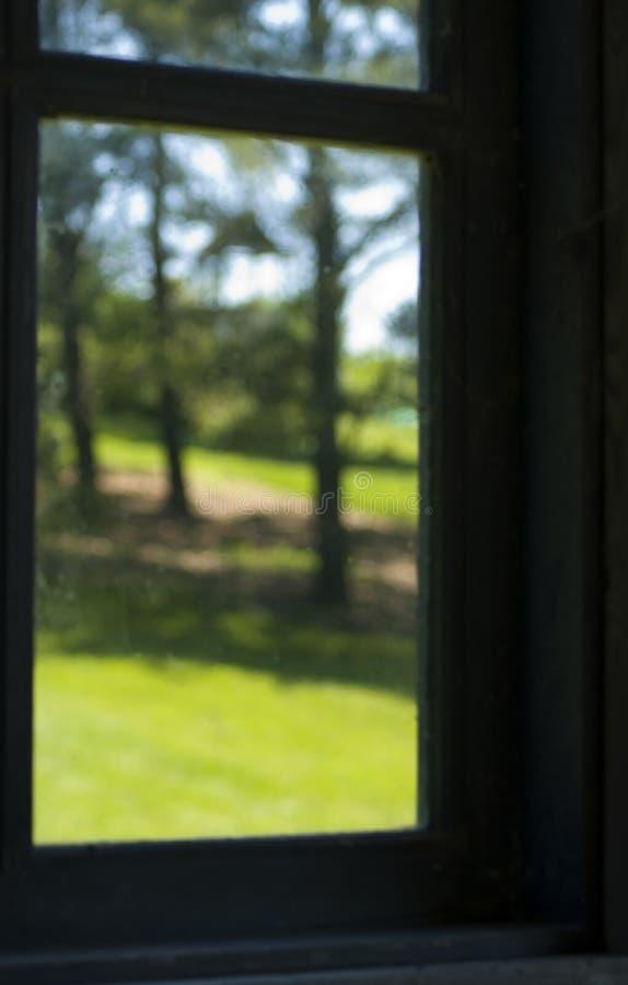 Através do vidro - foco macio imagem de stock royalty free