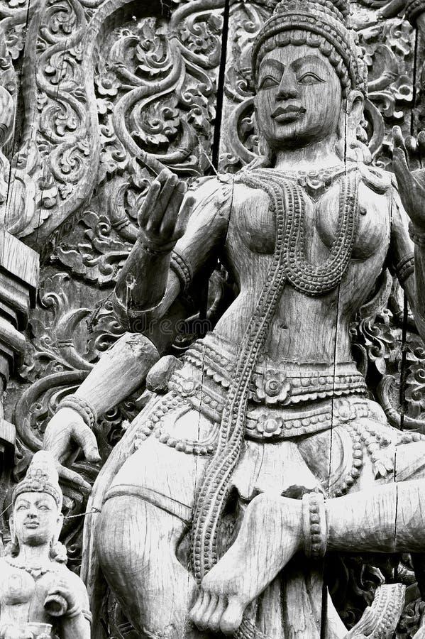 Atrayendo Pattaya el Santuary de la verdad Tailandia. imagenes de archivo