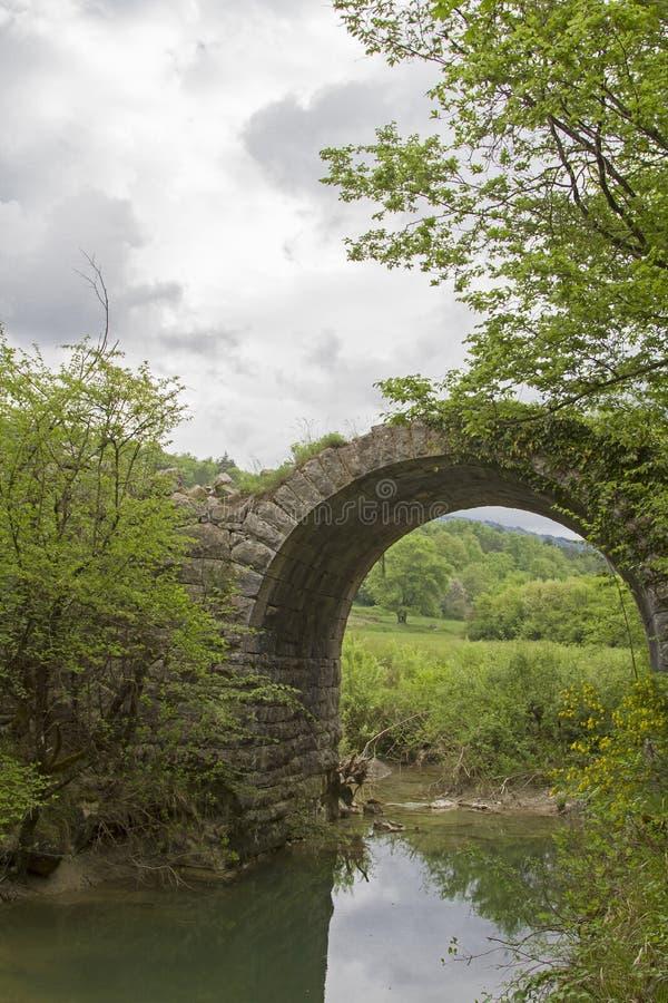 Atrevimiento de la construcción de puente foto de archivo