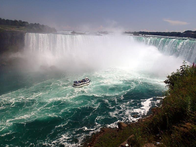 Atrevimiento del Niagara Falls fotos de archivo libres de regalías