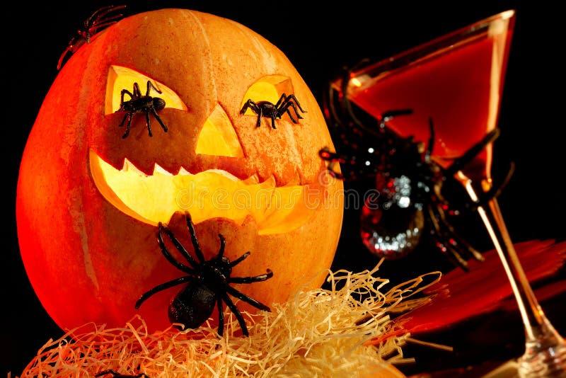 Atributos de Halloween imagem de stock royalty free