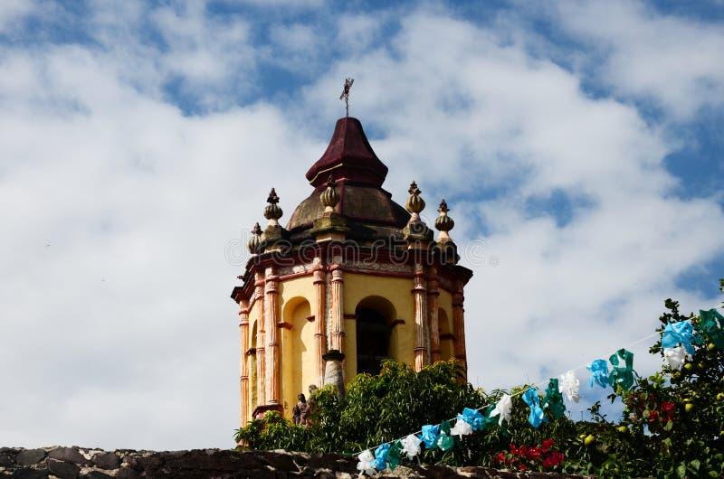 Atrio del ³ n de Conca Church de Misià fotos de archivo libres de regalías