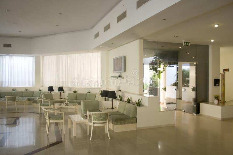 Atrio dell'hotel fotografie stock libere da diritti