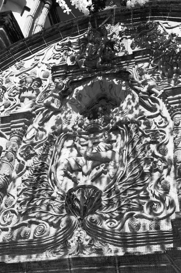 Atrio n de Conca Церков ³ Misià стоковые фото