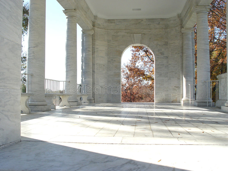 atrium arkivbild