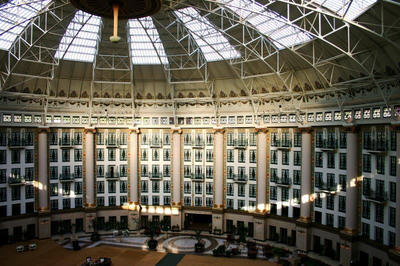 Atrium Drie Stock Afbeeldingen