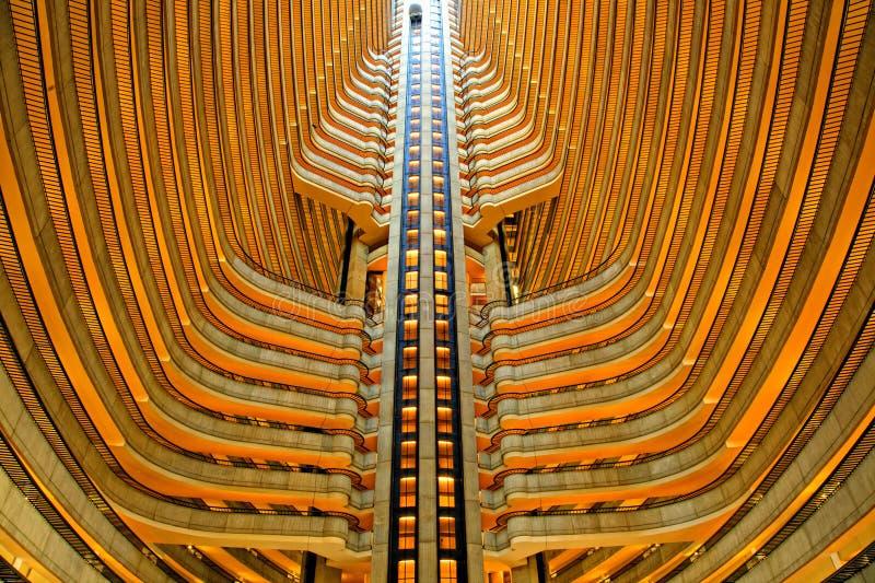 atrium hotel zdjęcia royalty free