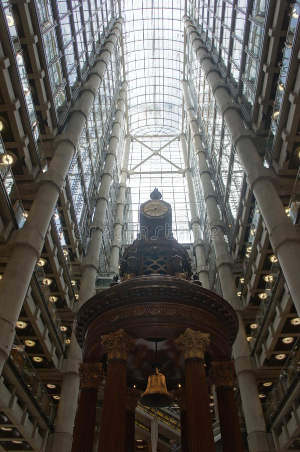 Download Atrium Lloyds of London stock image. Image of structure - 21302277
