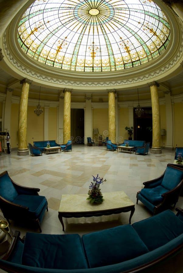 Atriumhotelvorhalle Lima Peru stockbilder
