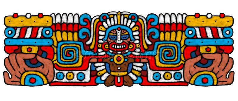 AtrWork maia ilustração do vetor