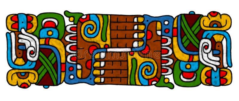 atrwork mayan διανυσματική απεικόνιση