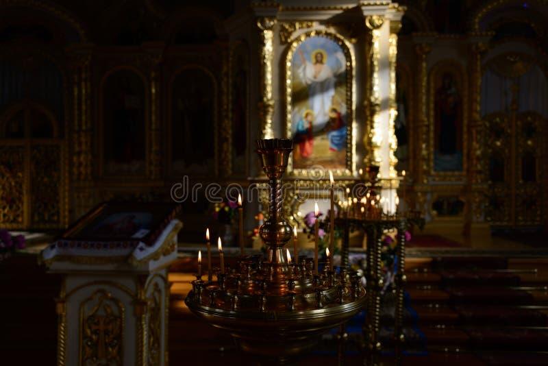 Atrybuty kościół chrześcijański zdjęcia stock