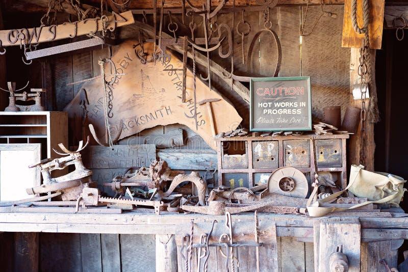19 Ats Australias för hovslagare för thårhundradeby museum för kulle för flaggstång maritimt royaltyfri bild
