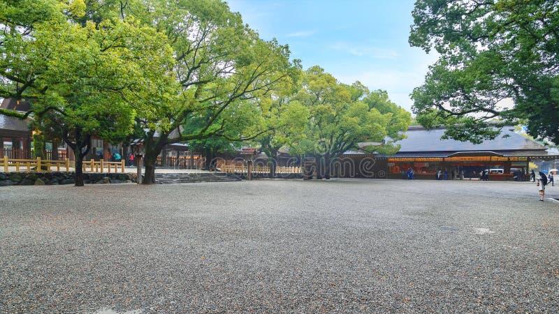 Atsuta-jingu (Atsuta Shrine) in Nagoya, Japan royalty free stock photos