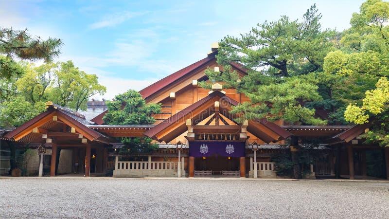Atsuta-jingu (Atsuta Shrine) in Nagoya, Japan stock images