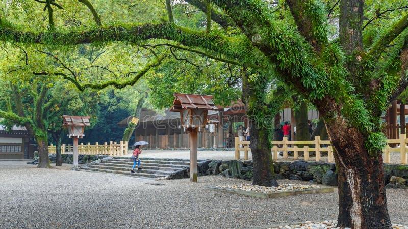 Atsuta-jingu (Atsuta Shrine) in Nagoya, Japan royalty free stock images
