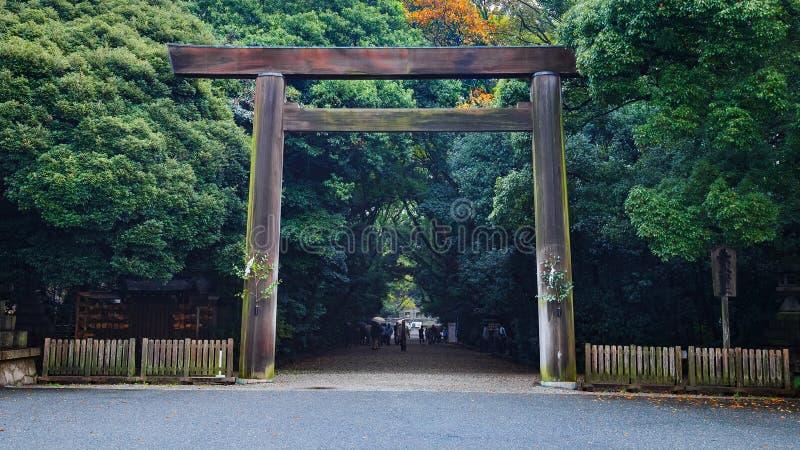 Atsuta Shrine in Nagoya, Japan royalty free stock photo