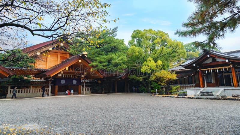 Atsuta Shrine in Nagoya, Japan royalty free stock image