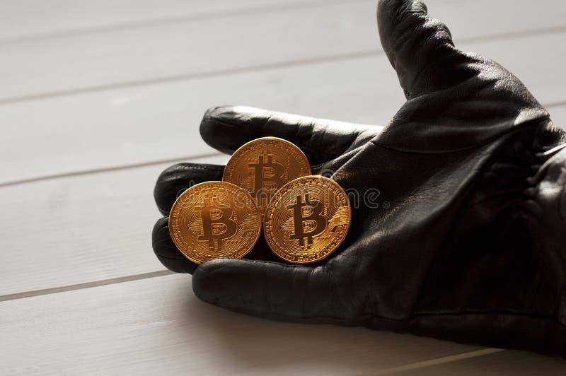Att betala vid Crypton valuta erbjuds arkivfoton