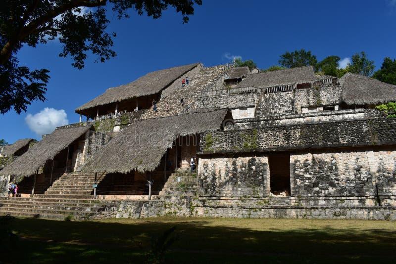 Att förbluffa mayan EkBalam fördärvar royaltyfria bilder