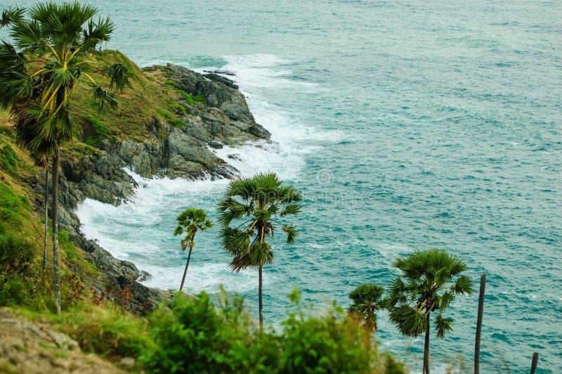 Att förbluffa Seychellerna med unik granit vaggar royaltyfri foto